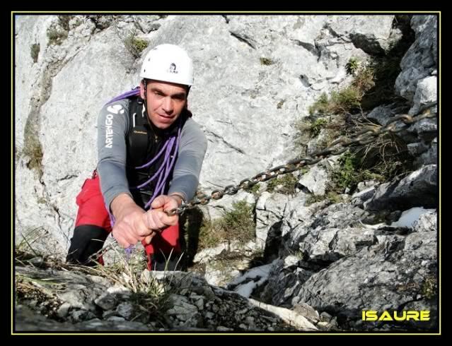 Peña Karria 1.130m. Por el Frontal de Las Tablas DSC09634