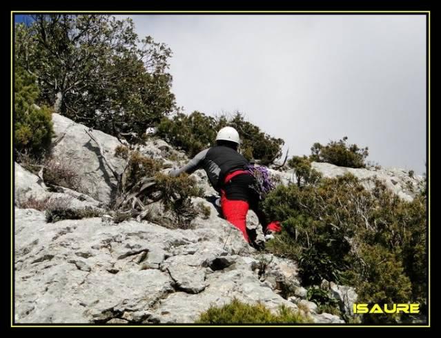 Peña Karria 1.130m. Por el Frontal de Las Tablas DSC09639