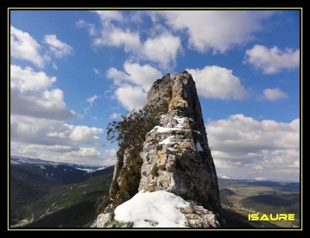 Peña Karria 1.130m. Por el Frontal de Las Tablas DSC09643
