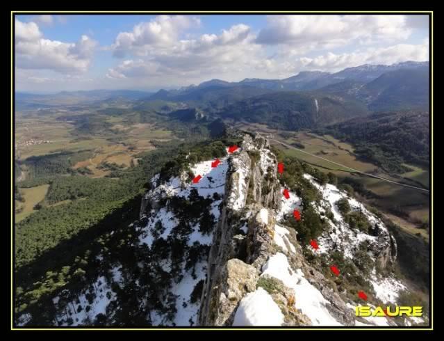 Peña Karria 1.130m. Por el Frontal de Las Tablas DSC09644
