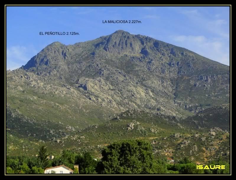 La Maliciosa 2.227m. y Bola del Mundo 2.258m. desde La Barranca DSC03209