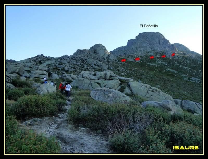 La Maliciosa 2.227m. y Bola del Mundo 2.258m. desde La Barranca DSC03246