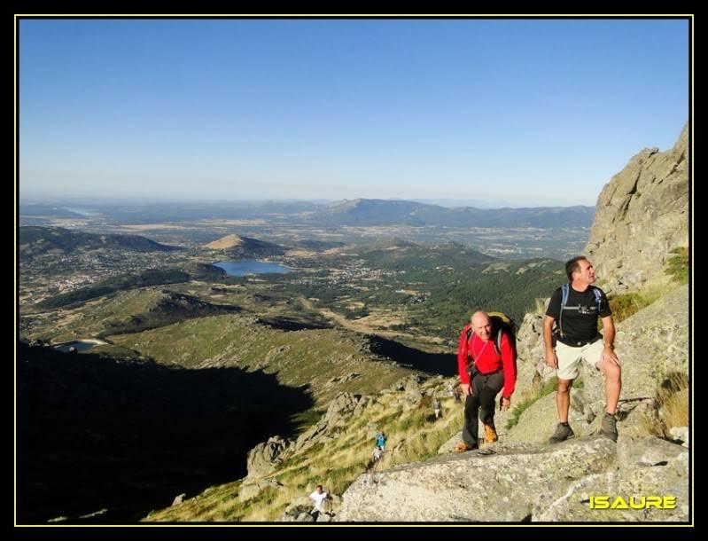 La Maliciosa 2.227m. y Bola del Mundo 2.258m. desde La Barranca DSC03259