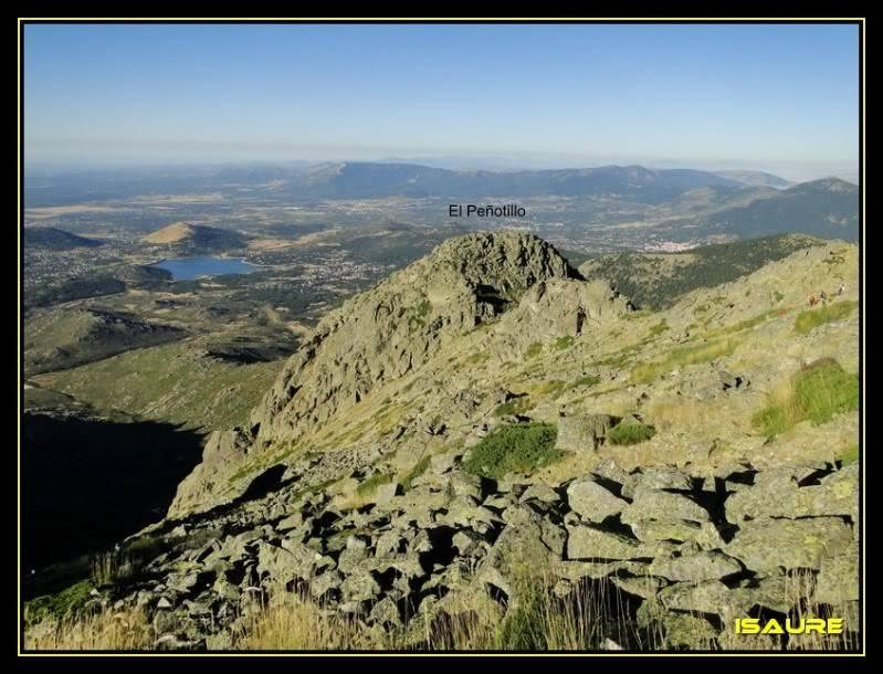 La Maliciosa 2.227m. y Bola del Mundo 2.258m. desde La Barranca DSC03260