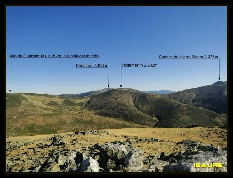 La Maliciosa 2.227m. y Bola del Mundo 2.258m. desde La Barranca DSC03271