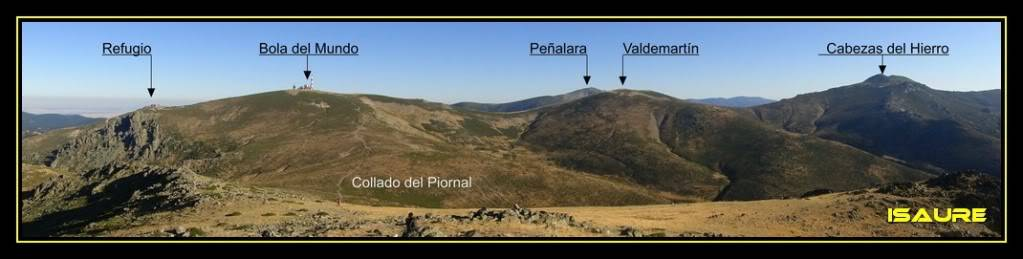 La Maliciosa 2.227m. y Bola del Mundo 2.258m. desde La Barranca DSC03272-1
