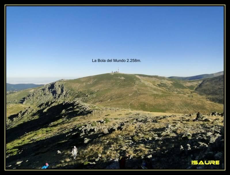 La Maliciosa 2.227m. y Bola del Mundo 2.258m. desde La Barranca DSC03280