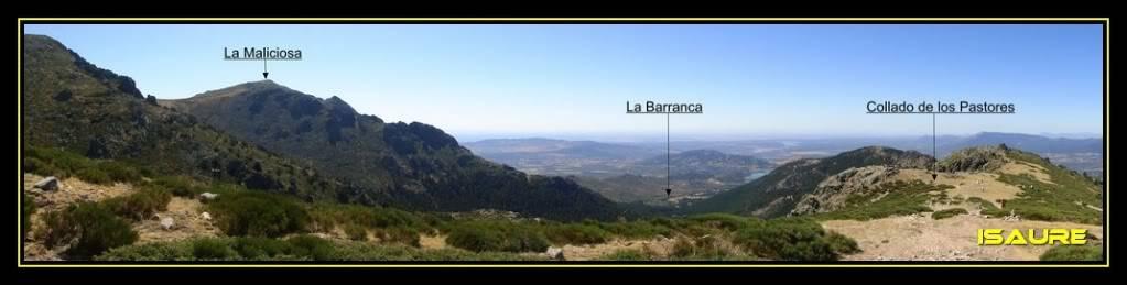 La Maliciosa 2.227m. y Bola del Mundo 2.258m. desde La Barranca DSC03331-1