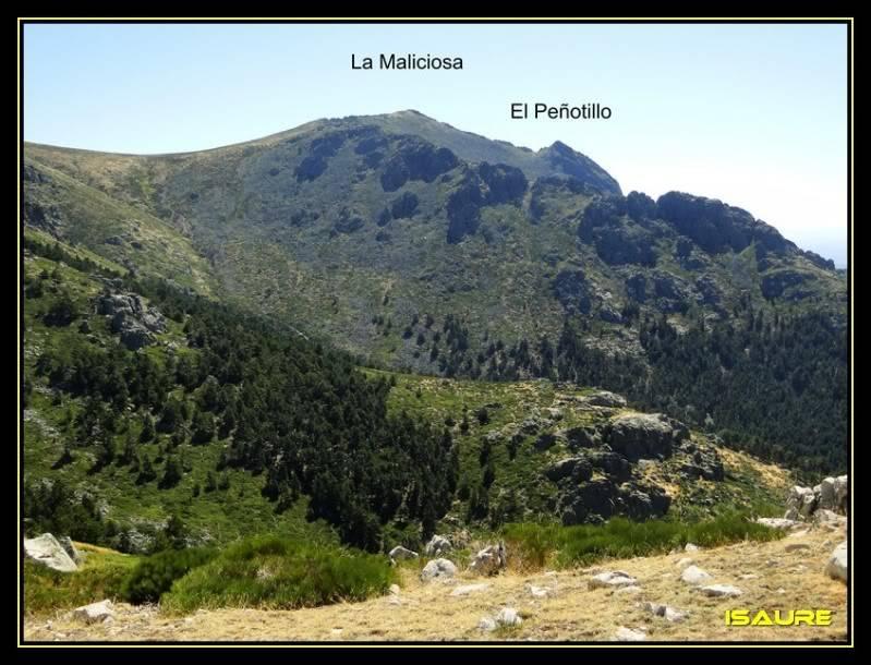 La Maliciosa 2.227m. y Bola del Mundo 2.258m. desde La Barranca DSC03346