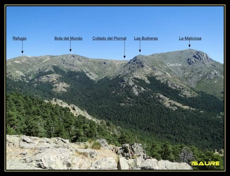 La Maliciosa 2.227m. y Bola del Mundo 2.258m. desde La Barranca DSC03377