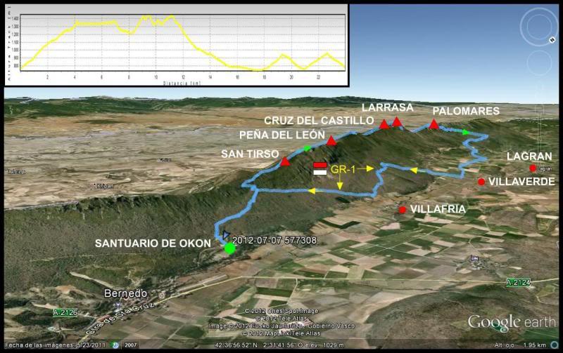 Cresterio San Tirso-Palomares MAPAPALOMARES