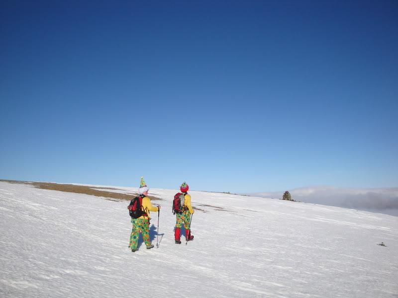 Haciendo el payaso subiendo al Pico Mencilla 1.932m. MENCILLA143
