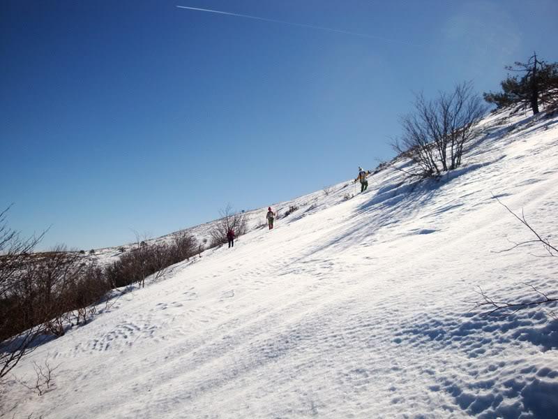 Haciendo el payaso subiendo al Pico Mencilla 1.932m. MENCILLA241