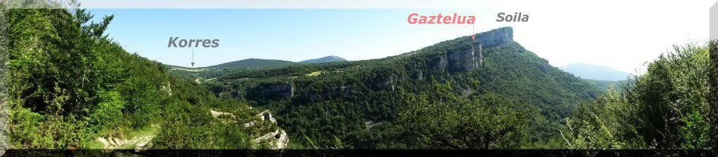 Muela 1.055m. y Gaztelua 867m. por caminos poco conocidos DSC02041-1