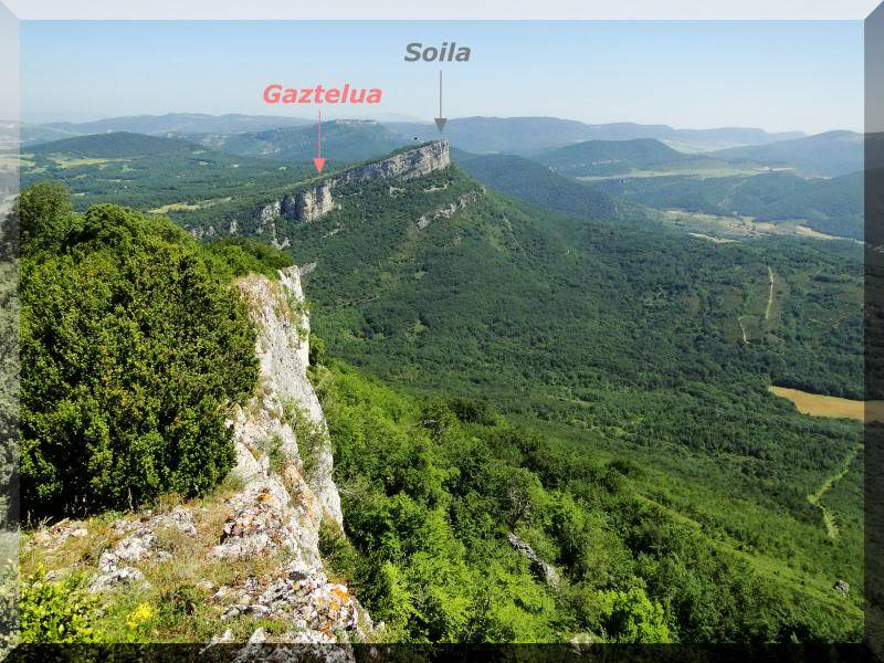 Muela 1.055m. y Gaztelua 867m. por caminos poco conocidos DSC02107