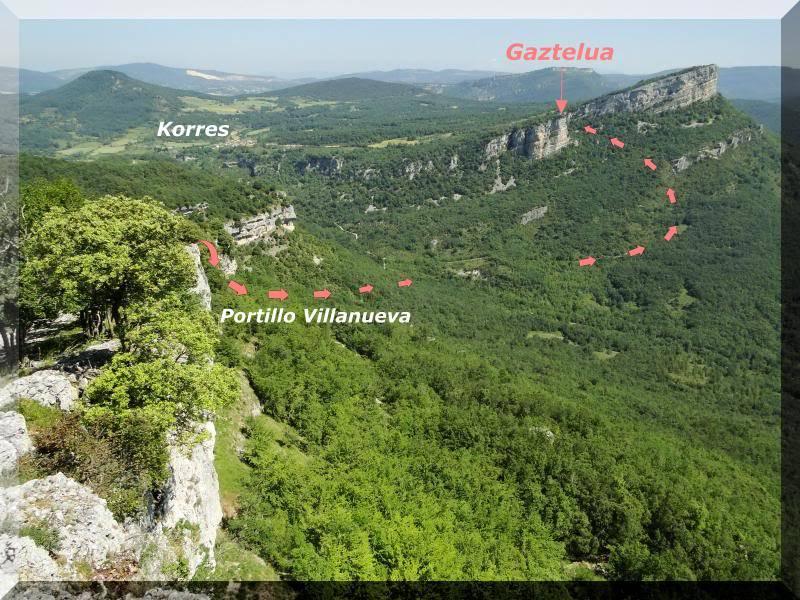 Muela 1.055m. y Gaztelua 867m. por caminos poco conocidos DSC02113