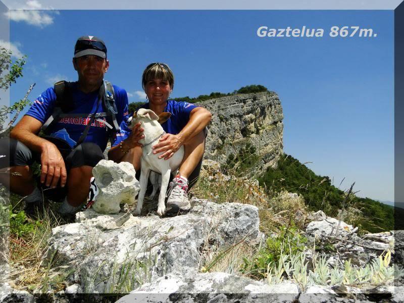 Muela 1.055m. y Gaztelua 867m. por caminos poco conocidos DSC02183