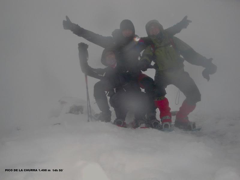 Pico de La Churra 1.498m. desde Quintanilla del Rebollar LACHURRA146