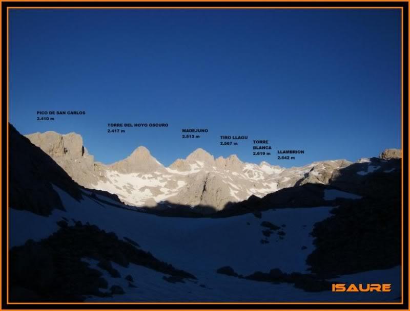Peña Vieja 2.613m. Pico Tesorero 2.570m. Desde Fuente Dé PEAVIEJA107-1
