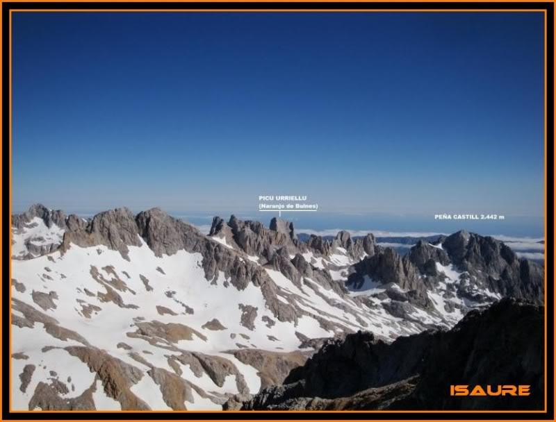 Peña Vieja 2.613m. Pico Tesorero 2.570m. Desde Fuente Dé PEAVIEJA175-1