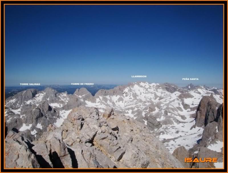 Peña Vieja 2.613m. Pico Tesorero 2.570m. Desde Fuente Dé PEAVIEJA177-1