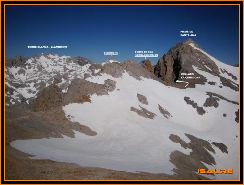 Peña Vieja 2.613m. Pico Tesorero 2.570m. Desde Fuente Dé PEAVIEJA190