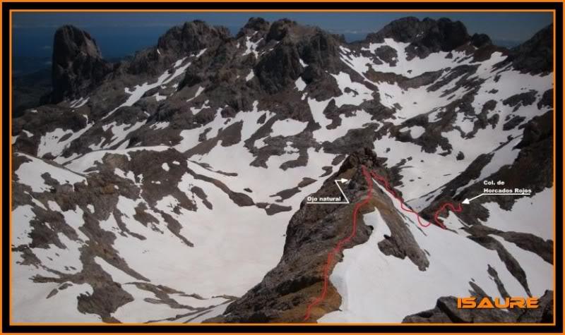 Peña Vieja 2.613m. Pico Tesorero 2.570m. Desde Fuente Dé PEAVIEJA233-1