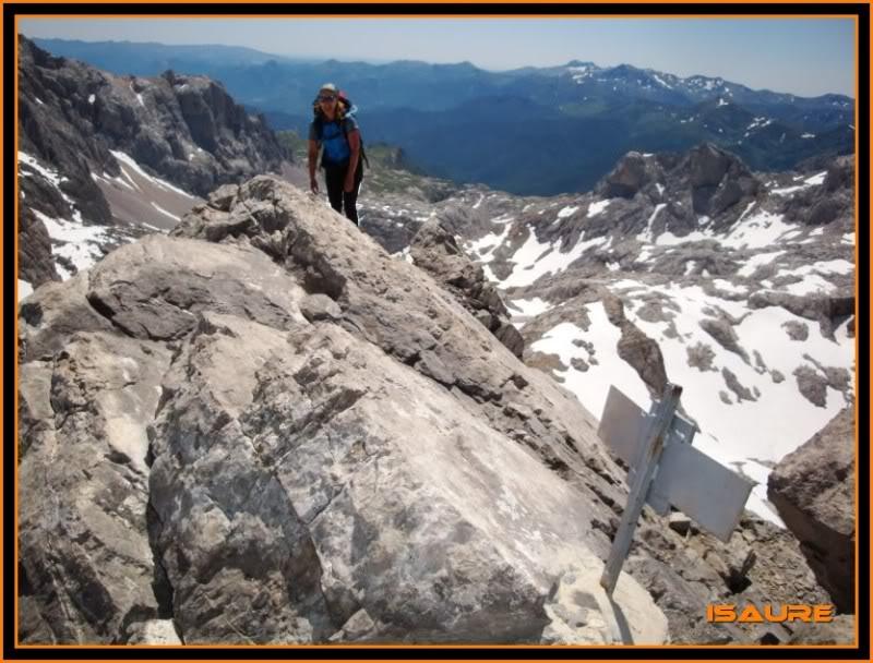 Peña Vieja 2.613m. Pico Tesorero 2.570m. Desde Fuente Dé PEAVIEJA234