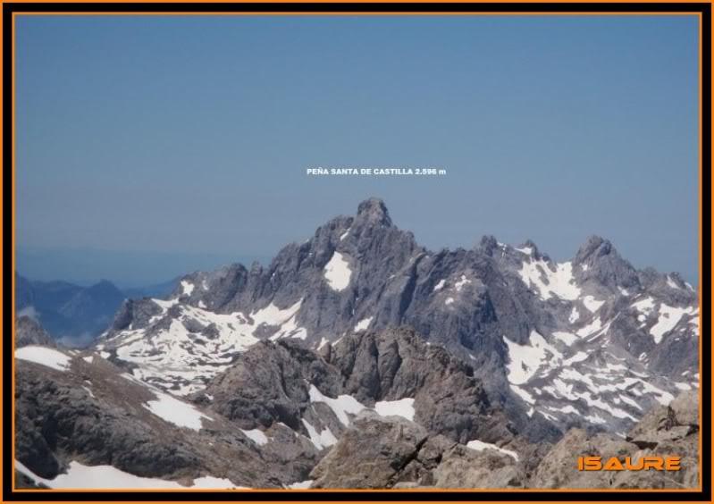 Peña Vieja 2.613m. Pico Tesorero 2.570m. Desde Fuente Dé PEAVIEJA243-1