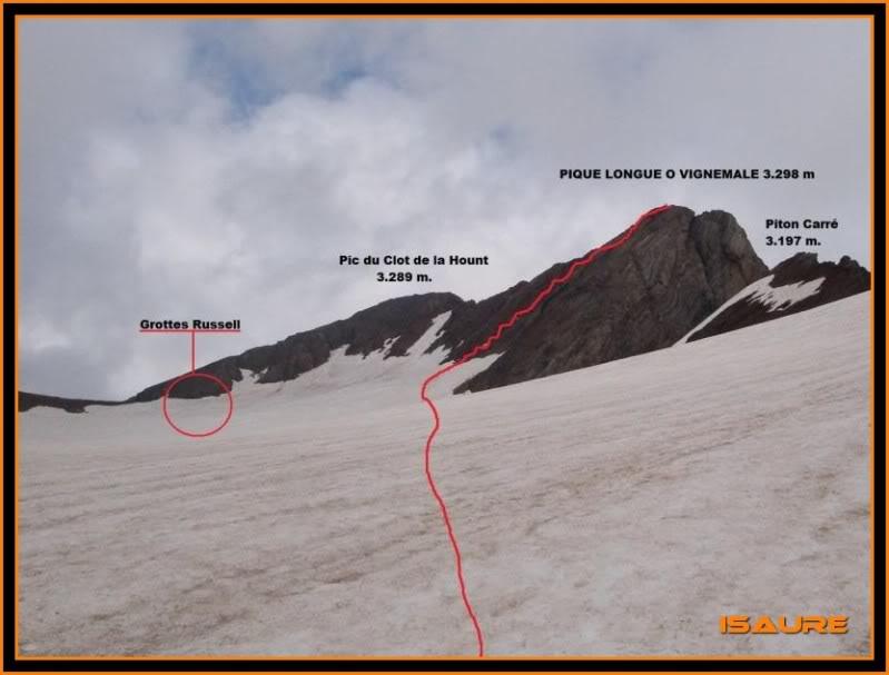 Vignemale 3.298m. desde la presa d´Ossoue (Gavarnie) VIGNEMALE074-1