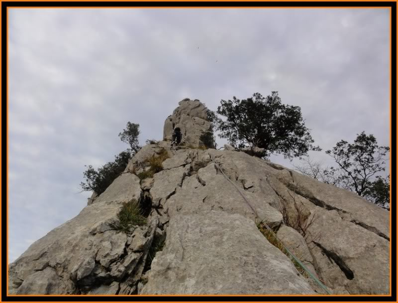 Vía Normal de Urrestei 200m. IV. (Atxarte) DSC06390