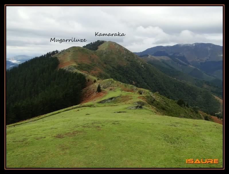 Goikogane 702, Mugarriluze 735 y Kamaraka 800m. DSC09632