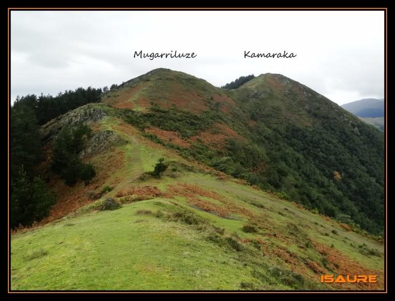 Goikogane 702, Mugarriluze 735 y Kamaraka 800m. DSC09638