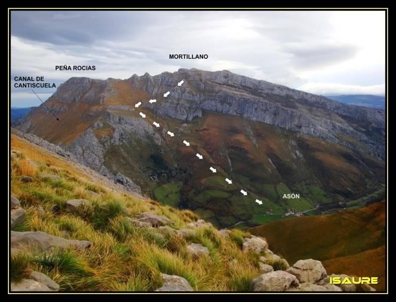 Peña Rocias 1.338m. y Mortillano 1.411m. desde el Valle de Asón DSC00190