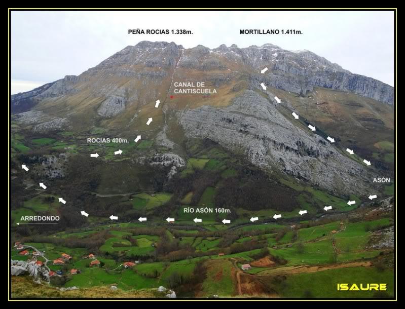 Peña Rocias 1.338m. y Mortillano 1.411m. desde el Valle de Asón KDDPORRACOLINA395