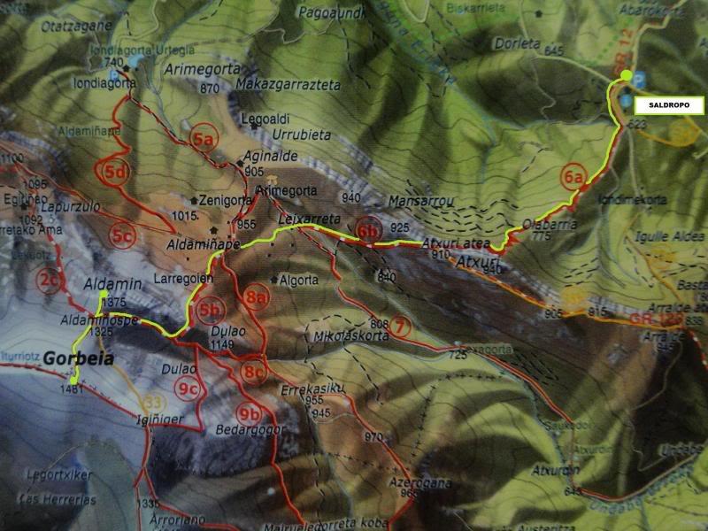 Ascensión al Gorbea 1.481m. y Aldamin 1.375m. desde Saldropo GORBEACONKEDUCC001-1