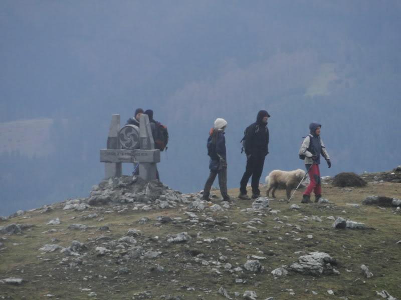 Ascensión al Gorbea 1.481m. y Aldamin 1.375m. desde Saldropo GORBEACONKEDUCC100