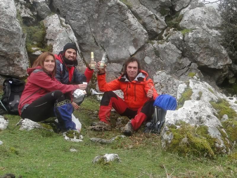Ascensión al Gorbea 1.481m. y Aldamin 1.375m. desde Saldropo GORBEACONKEDUCC129