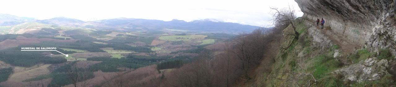 Ascensión al Gorbea 1.481m. y Aldamin 1.375m. desde Saldropo GORBEACONKEDUCC164-1
