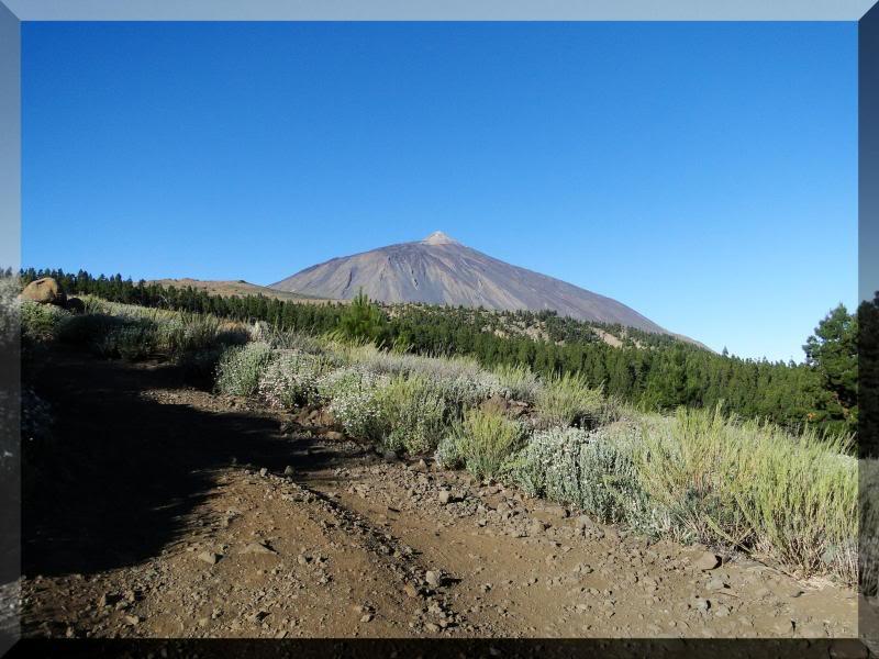 Teide 3.718m. desde la playa del Socorro 25