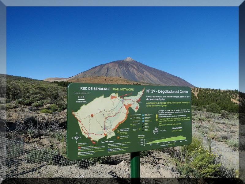 Teide 3.718m. desde la playa del Socorro 26