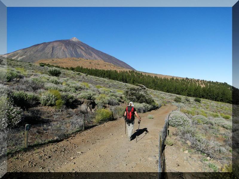 Teide 3.718m. desde la playa del Socorro 31