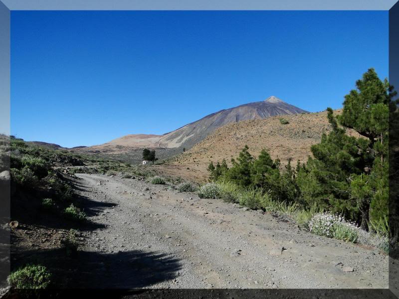 Teide 3.718m. desde la playa del Socorro 32