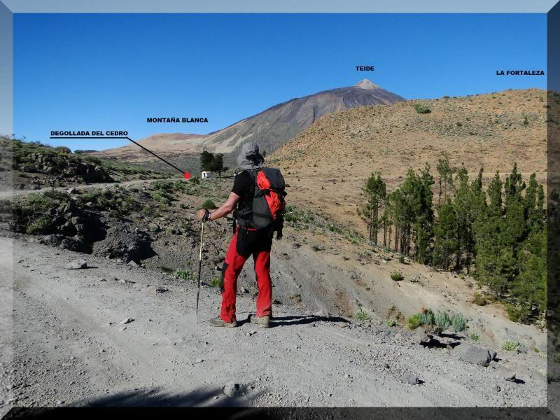 Teide 3.718m. desde la playa del Socorro 33