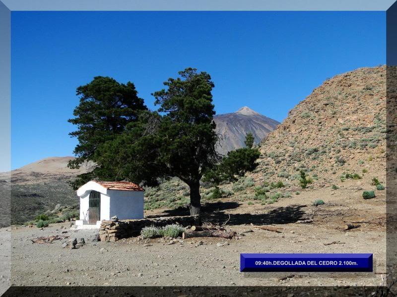 Teide 3.718m. desde la playa del Socorro 34