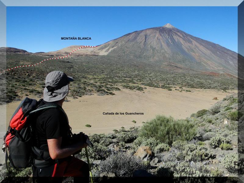 Teide 3.718m. desde la playa del Socorro 35
