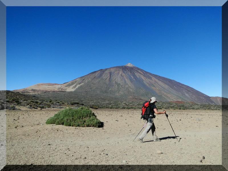 Teide 3.718m. desde la playa del Socorro 36