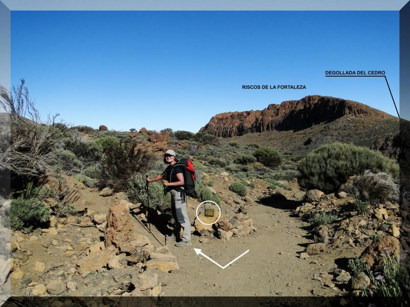 Teide 3.718m. desde la playa del Socorro 38