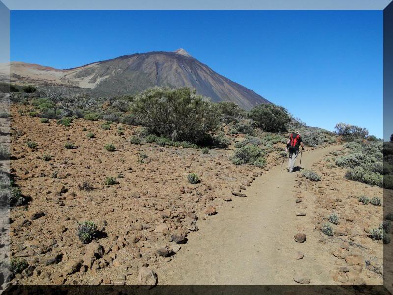 Teide 3.718m. desde la playa del Socorro 39