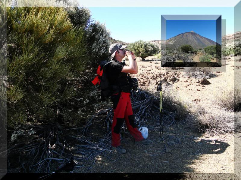 Teide 3.718m. desde la playa del Socorro 42